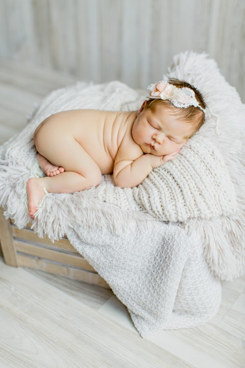 Grace Studios styled newborn photography